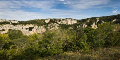 Le Mont Saint-Martin face au Cirque d'Estre