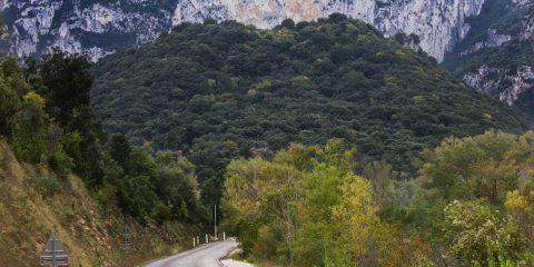 Départ du sentier de randonnée amont des Gorges 2