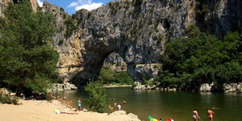 Pont d'Arc amont 1