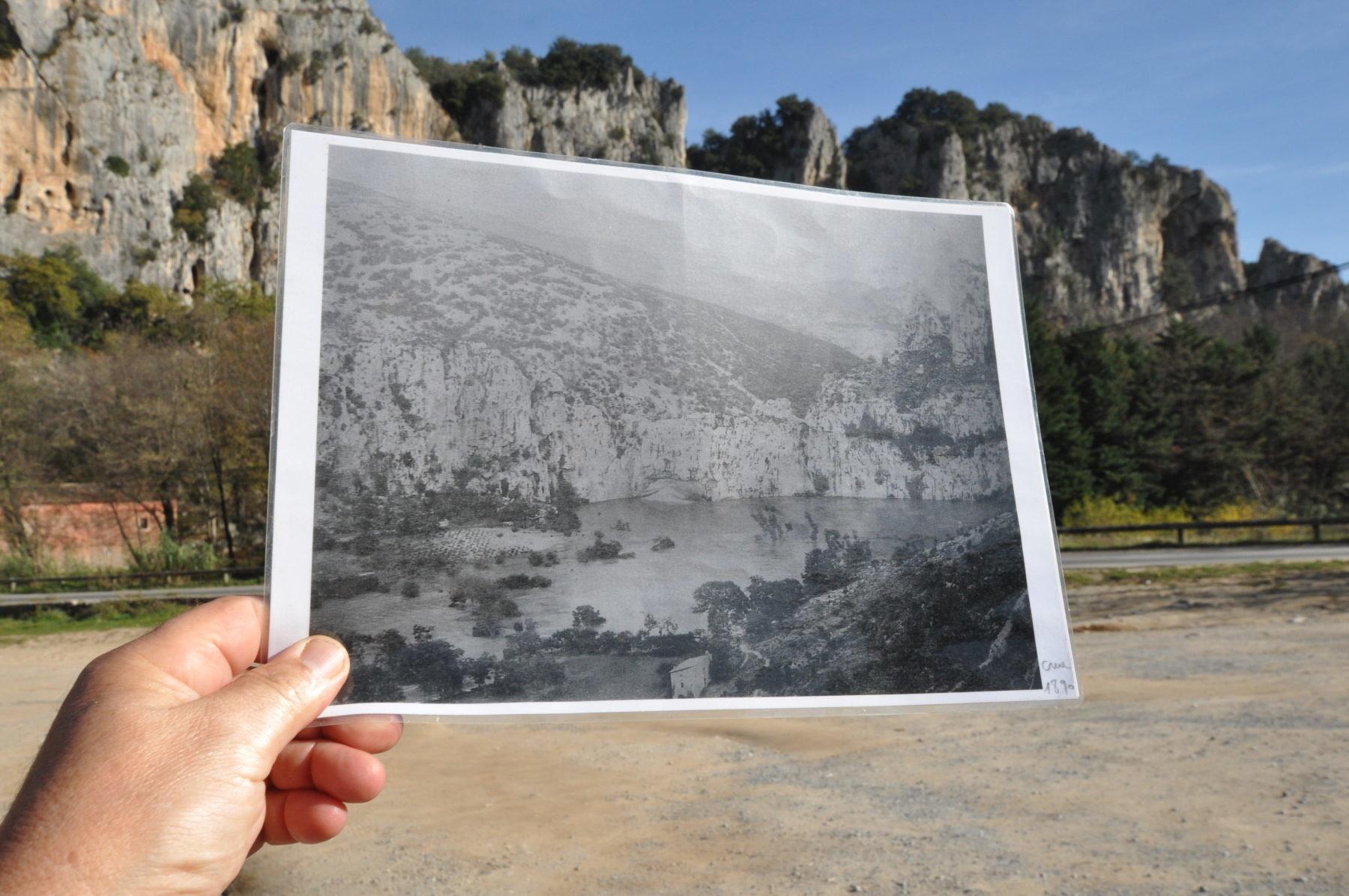 Révéler l'histoire invisible du Pont d'Arc